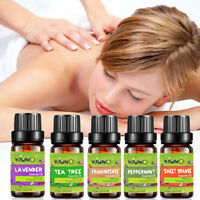 Pure Aromatherapy Essential Oil 8pcs Set for Air Diffuser Aroma Humidifier Gifts