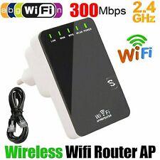 WIFI Repeater Mini Router AP WLAN 802.11n Wireless Verstärker Extender 300Mbit/s