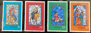 ANTIGUA  552 - 555  Beautiful  Mint  NEVER  Hinged   Set   AG