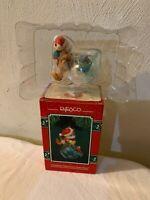 Enesco Christmas Fishes From Santa Paws Christmas Ornament NIB 1994