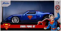 JADA TOYS 31717 FORD GT SUPERMAN diecast model car with opening doors 1:32nd