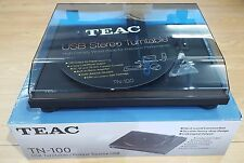 Teac TN-100 USB Turntable with Pre-Amp/Phono Stage Black EX-DEMO REF#520