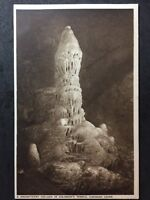 RP Vintage Postcard - Somerset #26 - Cheddar Caves, Column Solomons Temple Gough