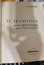 EL TRANSISTOR EN EL LABORATORIO Y EN LA INDUSTRIA (Paperback) (Spanish)(Español)