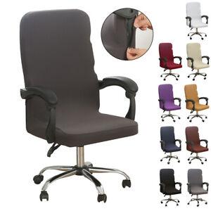 Stretch Universal Bürostuhl bezug Bürostuhlabdeckung Sessel Überzug Husse Cover