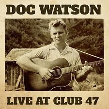 Doc Watson - Live at Club 47 [New CD]