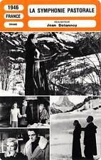 FICHE CINEMA : LA SYMPHONIE PASTORALE - Morgan,Blanchar 1946 Pastoral Symphony