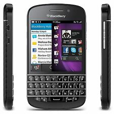 BlackBerry Q10 16GB Black Mobile Phone Smartphone SIM Free Unlocked