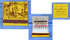 Pochette d'allumettes années 1980-1990, El Viejo Almacen, Argentine