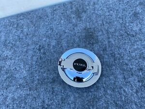 GAS FUEL TANK DOOR LID CHROME 68086353 DODGE CHALLENGER SRT OEM (12-20)