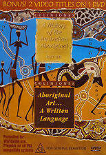 Colin Jones-DVD-Aboriginal Art.. A Written Language/History of Australian Aborig