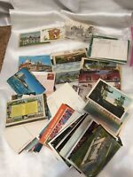 Post Card Mixed Lot My Lot #2 Various types Posted Unposted  Linen Chrome Places