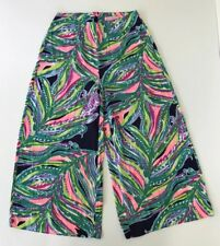 Lilly Pulitzer Posy Gaucho Pants Don't Leave Me Hanging Size 0