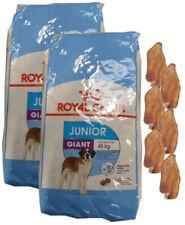 2x15kg Royal Canin Giant Junior + 6 x Kaninchenohren