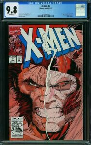 X-Men #7 CGC 9.8 1992 Omega Red & Wolverine Cover