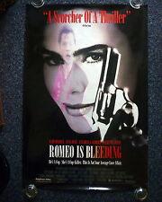 ROMEO IS BLEEDING Original 1990s One Sheet Movie Poster Different Art Lena Olin