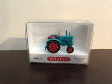 WIKING 1:87 / HO SCALE 088505 HANOMAG R16 WATER BLUE CLASSIC TRACTOR (MIB)