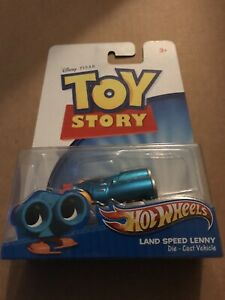 2011 Mattel Disney Pixar Hot Wheels Toy Story LAND SPEED LENNY Die-Cast Vehicle
