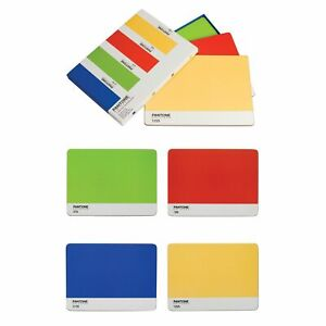 Pantone Universe Placemats Large - Set of 4 - Blue, Green, Red, Yellow - PA233 N