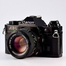 Canon AE-1 Program 35mm Manual SLR Film Camera with FD 50mm 1:1.4 from Japan