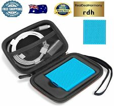 Shockproof Carrying Case + Silicone Cover Combo for Samsung T5 / T3 Portable
