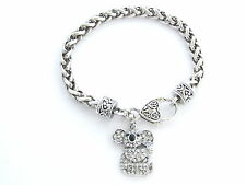Koala Bear Crystal Fashion Chain Bracelet Jewelry