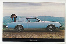 1980 BUICK RIVIERA 2-DOOR COUPE Dealer Postcard NOS New Unused Vintage Car Ad