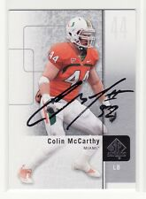 COLIN MCCARTHY AUTOGRAPHED MIAMI UNIVERSITY CARD