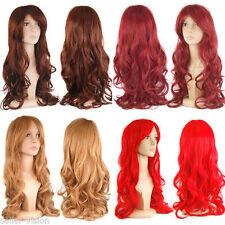 Perruques et toupets rouge longs pour femme