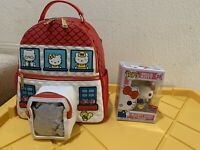 NYCC 2020 Funko Pop Hello Kitty Diamond Bundle Mini Backpack Loungefly LE 1,000
