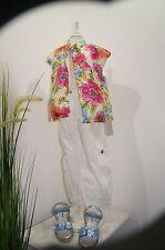 GAUDI Teen Blumenweste Weste beidseitig tragbar 134, 140 uvp: 90,00 Euro