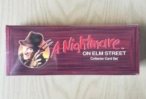 A Nightmare on Elm Street Collector Card Coffin Set 1991 Impel - Factory Sealed