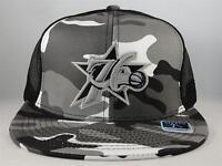 NBA Philadelphia 76ers Reebok Camo Fitted Hat Cap Size 7 1/8