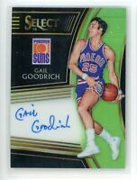 2018-19 Gail Goodrich 27/99 Auto Panini Select Green Autographs