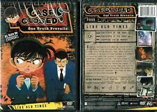 Case Closed  Season 4 Vol 3 Like Old Times New Anime DVD Funimation Release