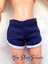 Barbie Fashionista Shorts Navy Blue White Trim Doll Clothes FS664