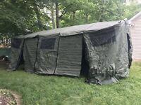 Military HDT Base-X Model 105 Multi-Function Shelter Tent & Liner Set Olive New