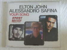 Elton John / Alessandro Safina: Your Song (Deleted 3 track Enhanced CD Single)
