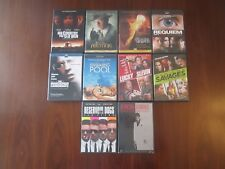 LOT of 10 DVDs Scarface Reservoir Dogs Savages Swimming Pool Lucky # Slevin PLUS