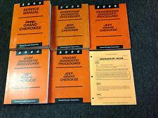 2000 Jeep Grand Cherokee Service Repair Manual Set W Diagnostics + Recall P OEM