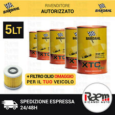 5LT OLIO MOTORE BARDAHL 5W40 XTC C60 POLAR PLUS FULLERENE + FILTRO OLIO OMAGGIO