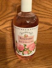 Crabtree & Evelyn Rosewater Bath & Shower Gel 16.9 oz ~ 500ml Bottle New