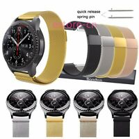 Milanese Loop Steel Strap Watch Band For Samsung Gear S2 S3 Classic / Frontier