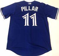 New Authentic Kevin Pillar Toronto Bluejays Majestic Mens Medium MLB Jersey