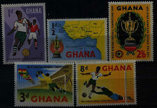 Ghana 1959 SG228-232 West African Football MNH Set #D34542