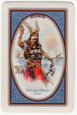 Playing Cards 1 Swap Card Vintage FURNESS PRINCE Shipping NORTHERN PRINCE Viking