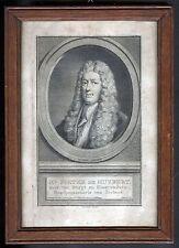 HUYBERT PIETER de Niederlande Portrait Kupferstich um 1750 Original