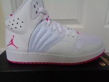 Girls Trainer BRAND Nike Jordon Style Jordon 1 Flight 4 GG Colour White Pink