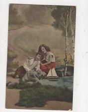 Vintage Postcard Children Germany 586a
