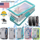Samsung Galaxy S10+ S9 Note 10 Plus 9 S7 8 Waterproof Shockproof Hard Case Cover